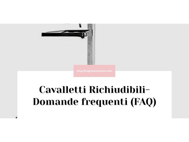 Cavalletti Richiudibili- Domande frequenti (FAQ)