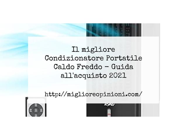 Le migliori marche di Condizionatore Portatile Caldo Freddo italiane