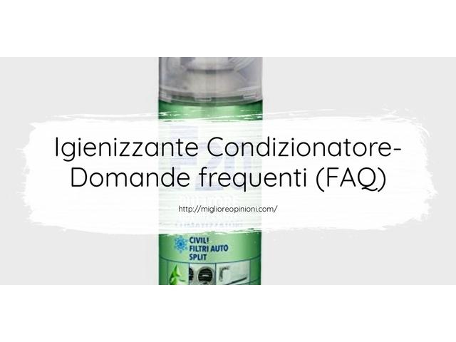 Igienizzante Condizionatore- Domande frequenti (FAQ)