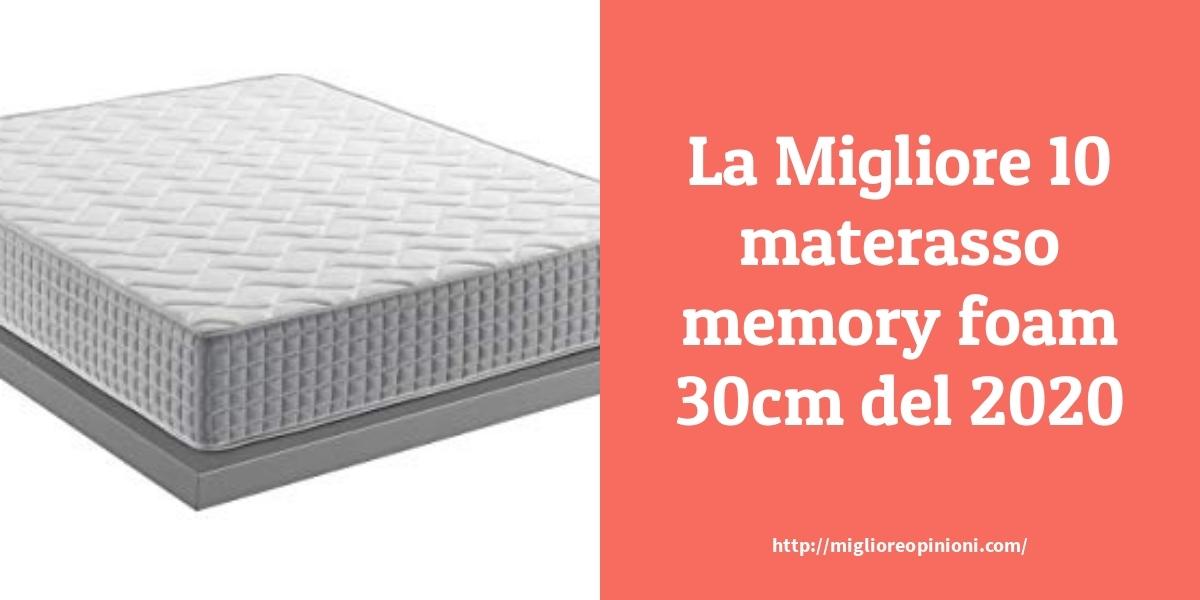 I Migliori 9 Materasso Memory Foam 30cm Consigli D Acquisto Classifica E Recensioni Miglioreopinioni Com