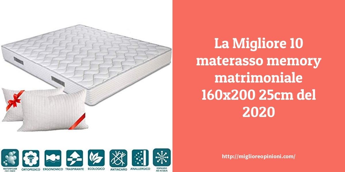 La Top 9 Materasso Memory Matrimoniale 160 200 25cm Nel 2021 Miglioreopinioni Com