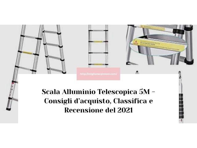 I migliori 9 scala alluminio telescopica 5m – Consigli d'acquisto, Classifica e Recensioni del 2021