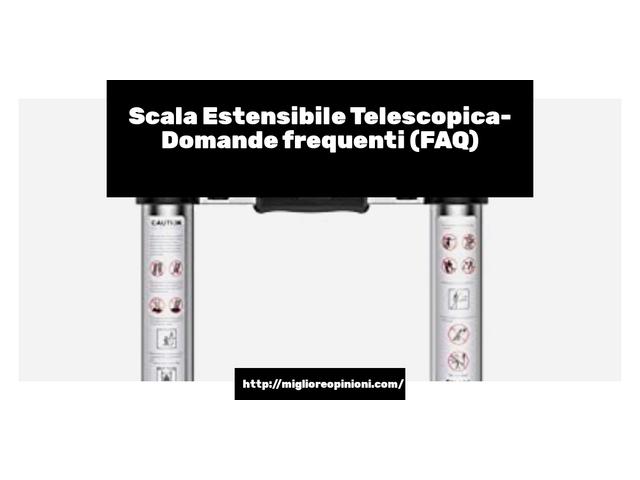La top 9 scala estensibile telescopica nel 2021