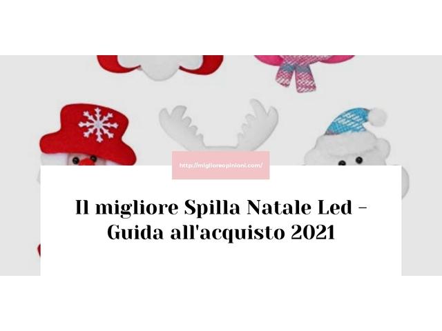 Le migliori marche di Spilla Natale Led italiane
