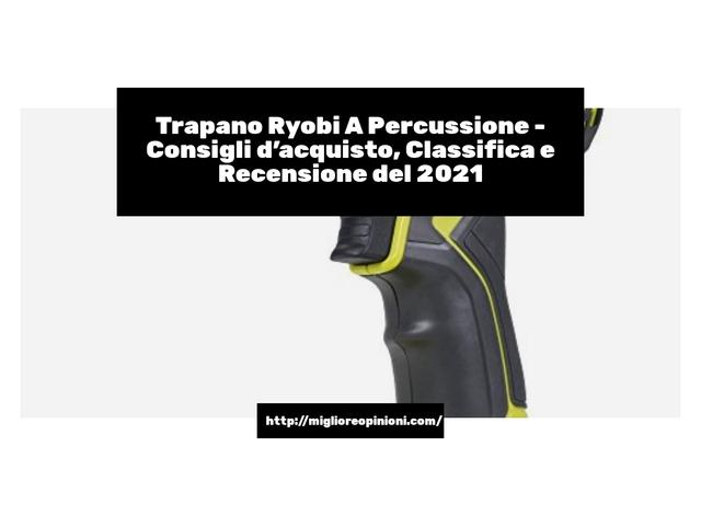 I più votati 9 trapano ryobi a percussione – Opinioni, Recensioni, Prezzi en 2021