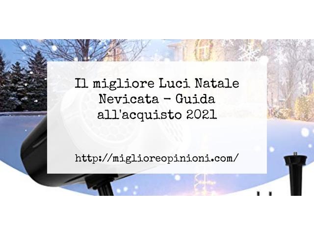 Le migliori marche di Luci Natale Nevicata italiane