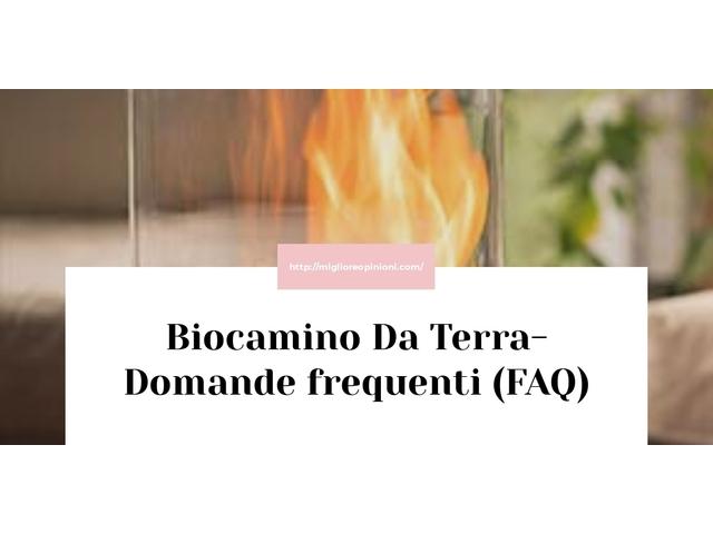 Biocamino Da Terra- Domande frequenti (FAQ)