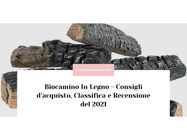 La top 10 biocamino in legno nel 2021