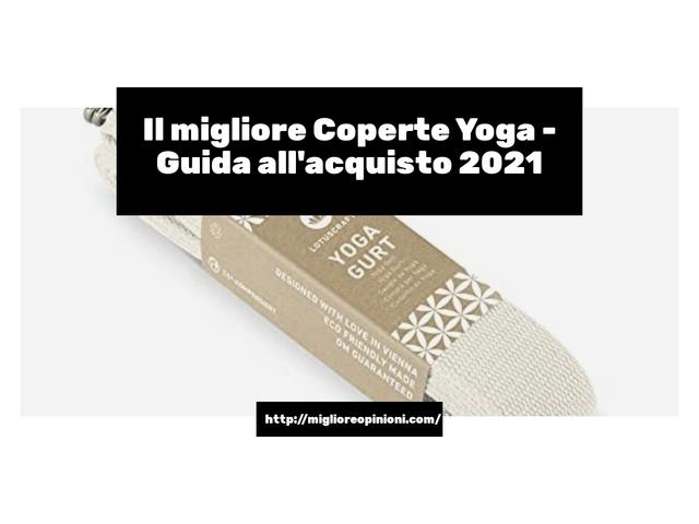 La top 10 coperte yoga al miglior nel 2021