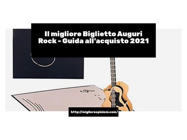 La top 10 biglietto auguri rock nel 2021