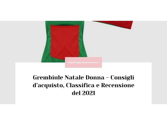 Grembiule Natale Donna : Consigli d'acquisto, Classifica e Recensioni