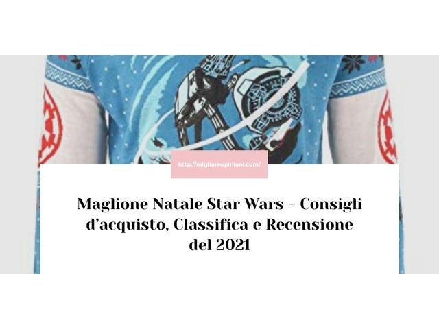 Maglione Natale Star Wars : Consigli d'acquisto, Classifica e Recensioni