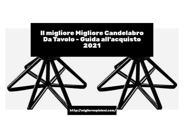 Le migliori marche di Migliore Candelabro Da Tavolo italiane