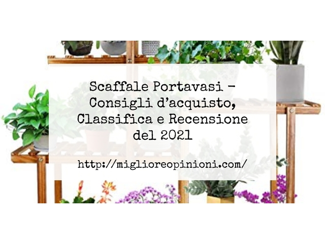 Scaffale Portavasi : Consigli d'acquisto, Classifica e Recensioni