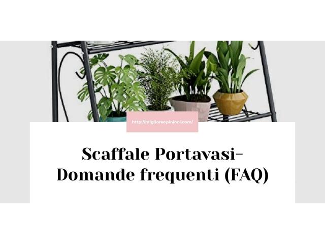 Scaffale Portavasi- Domande frequenti (FAQ)