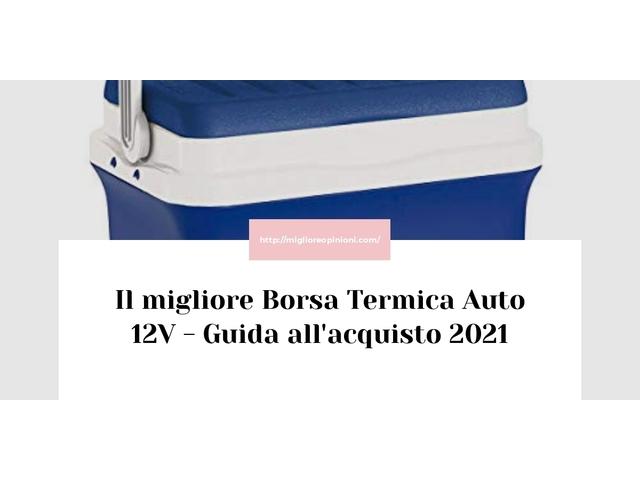 Le migliori marche di Borsa Termica Auto 12V italiane