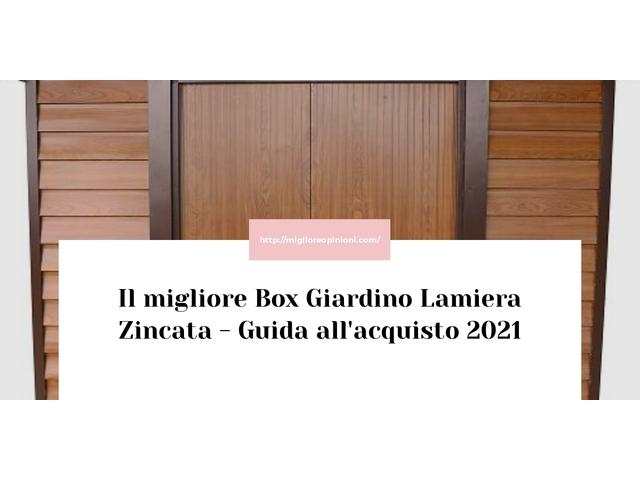 I migliori 10 box giardino lamiera zincata – per qualità, prezzo en 2021