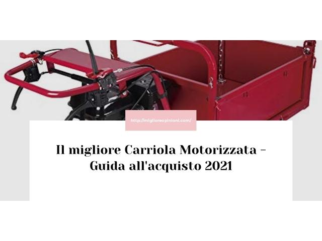 Le migliori marche di Carriola Motorizzata italiane