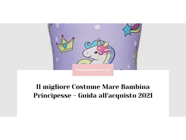 Le migliori marche di Costume Mare Bambina Principesse italiane