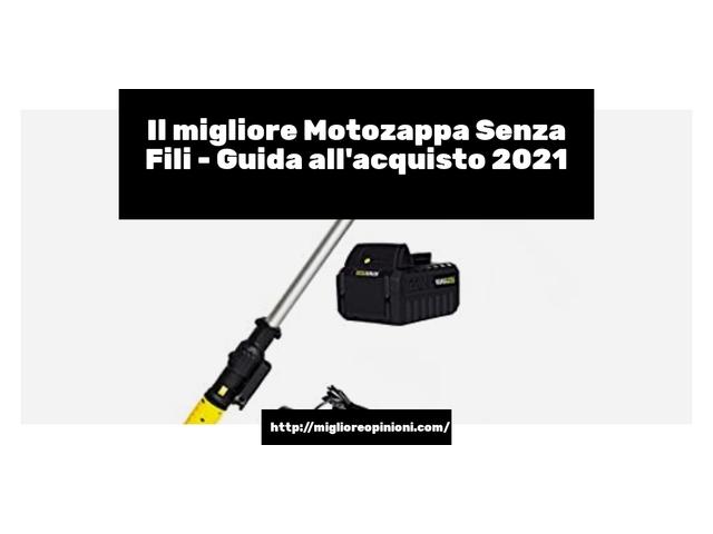 Le migliori marche di Motozappa Senza Fili italiane