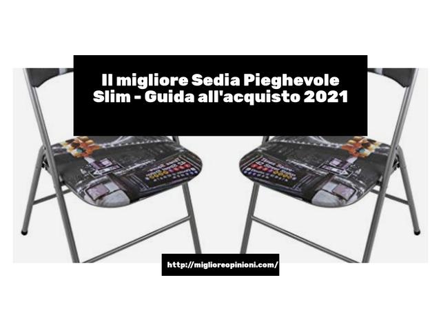 Le migliori marche di Sedia Pieghevole Slim italiane