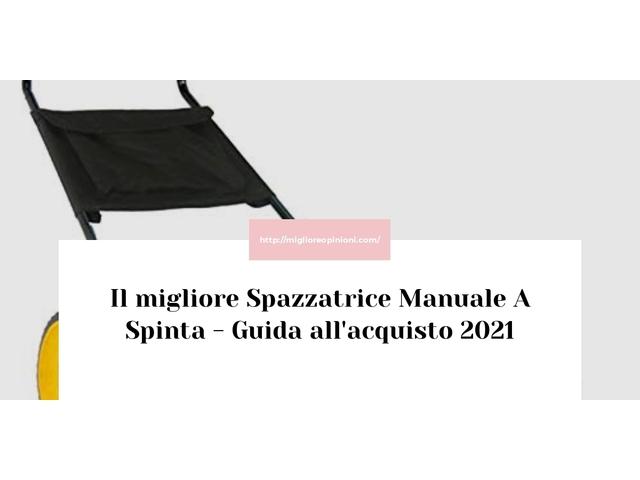 Le migliori marche di Spazzatrice Manuale A Spinta italiane