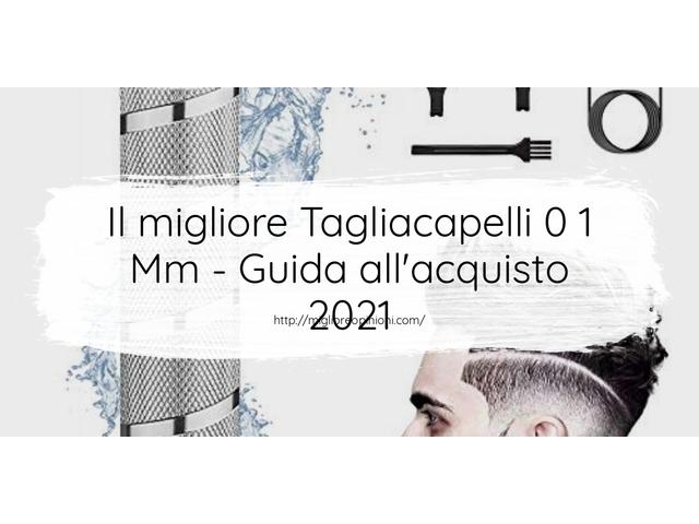 Le migliori marche di Tagliacapelli 0 1 Mm italiane