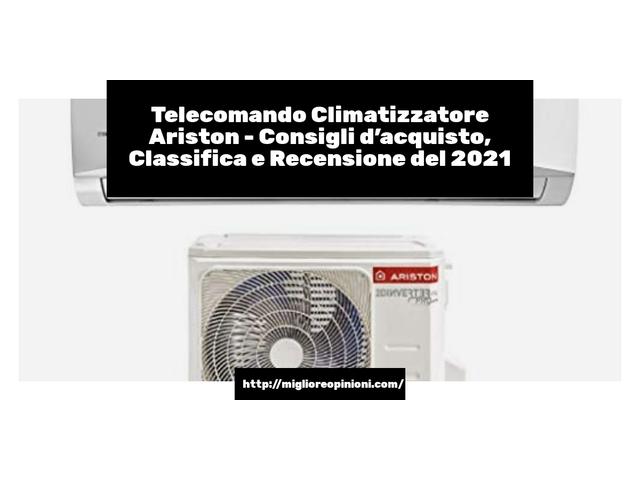 La top 10 telecomando climatizzatore ariston nel 2021