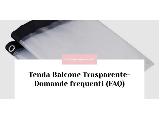 Consigliati 10 tenda balcone trasparente – Consigli d'acquisto, Classifica e Recensioni