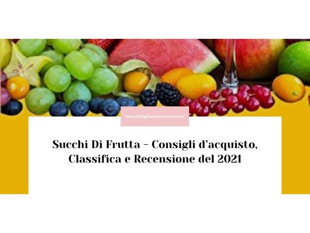 Maggiore 10 succhi di frutta – Ecco quale scegliere en 2021