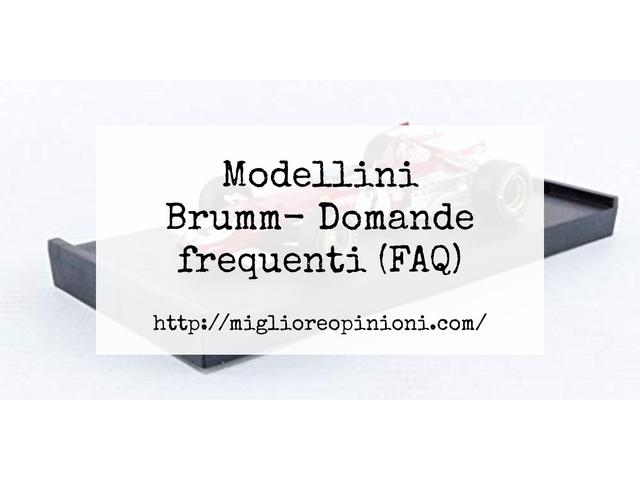La top 10 Modellini Brumm – Consigli d'acquisto, Classifica e Recensioni del 2021