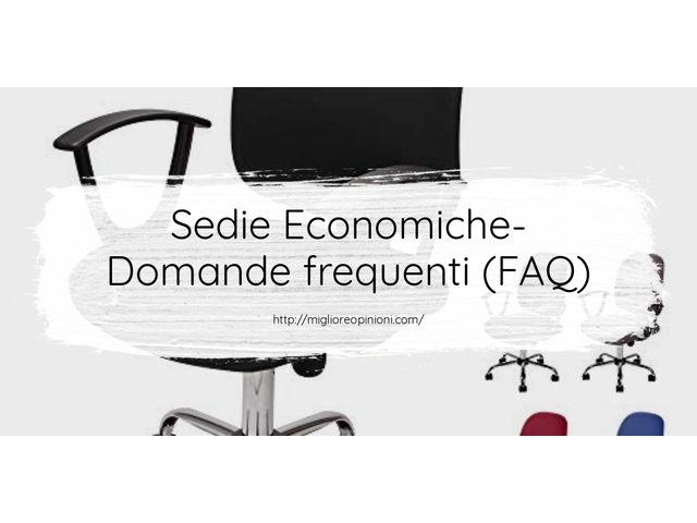 I migliori 10 sedie economiche – qual è il migliore en 2021?