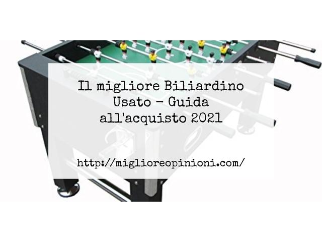 La top 10 Biliardino Usato – Consigli d'acquisto, Classifica e Recensioni del 2021