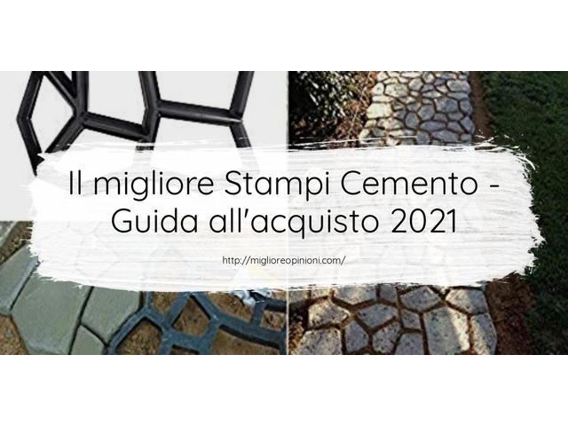 La top 10 Stampi Cemento – Consigli d'acquisto, Classifica e Recensioni del 2021
