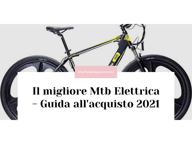La top 10 Mtb Elettrica – Consigli d'acquisto, Classifica e Recensioni del 2021