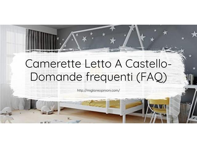 La top 10 Camerette Letto A Castello – Consigli d'acquisto, Classifica e Recensioni del 2021
