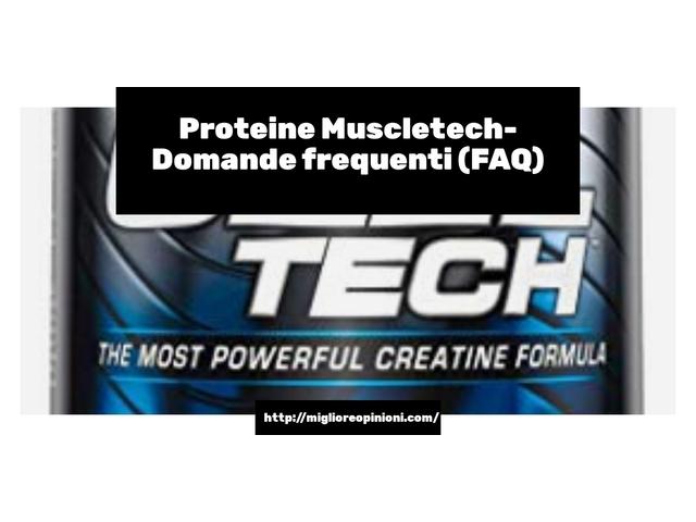 Consigliati 10 proteine muscletech – Ecco quale scegliere en 2021