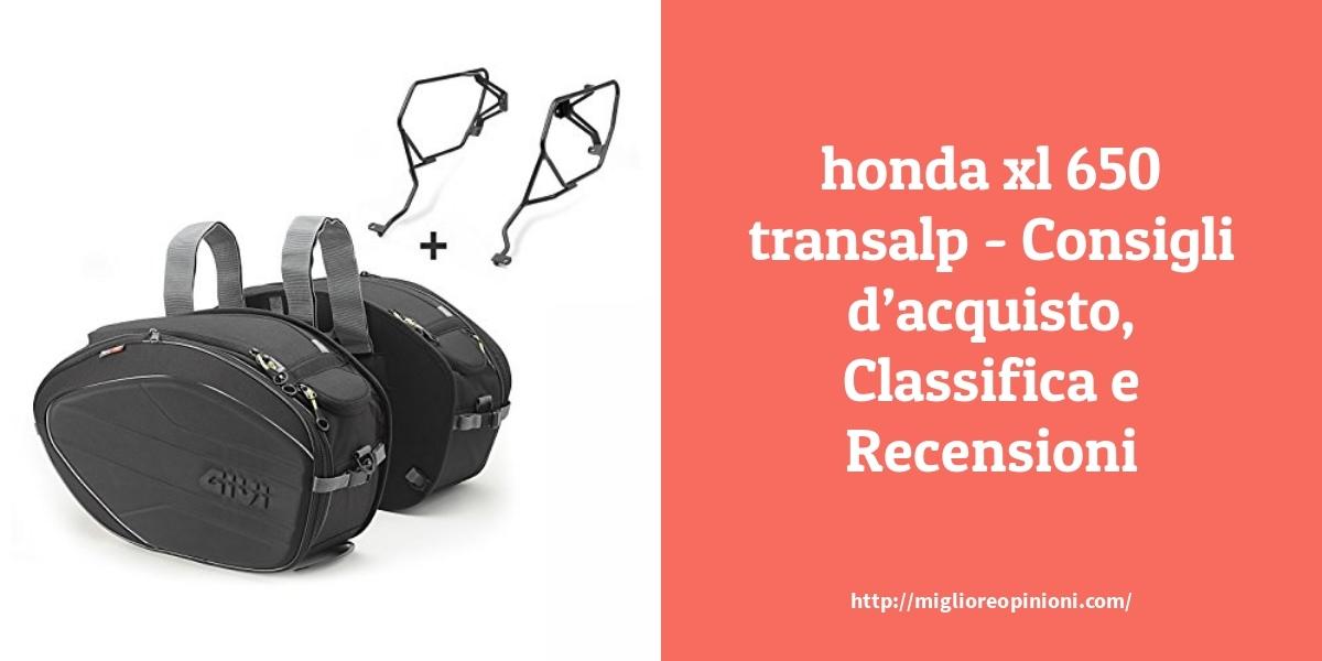 La top 10 Honda Xl 650 Transalp – Consigli d'acquisto, Classifica e Recensioni del 2021