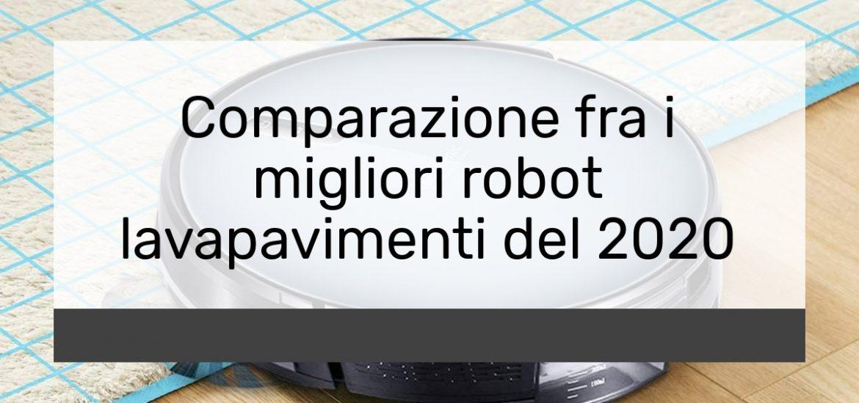 Comparazione fra i migliori robot lavapavimenti del 2021