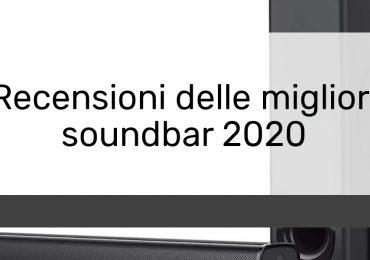 Recensioni delle migliori soundbar 2020