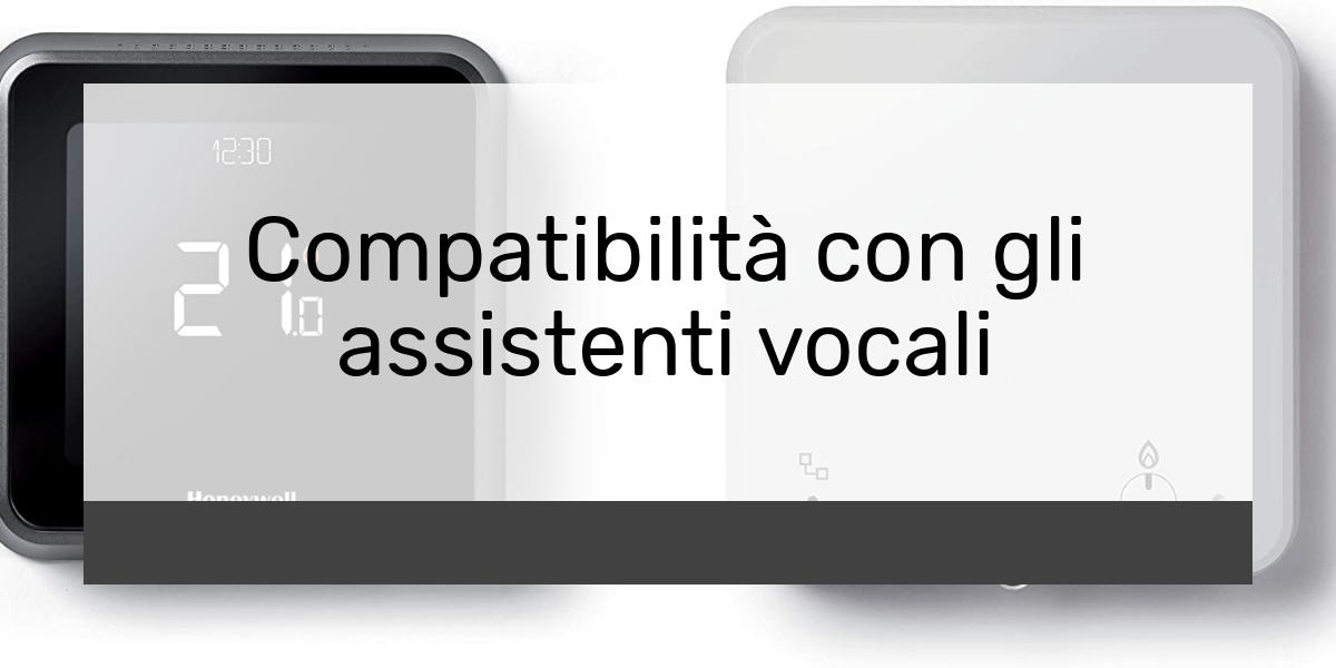 Compatibilità con gli assistenti vocali
