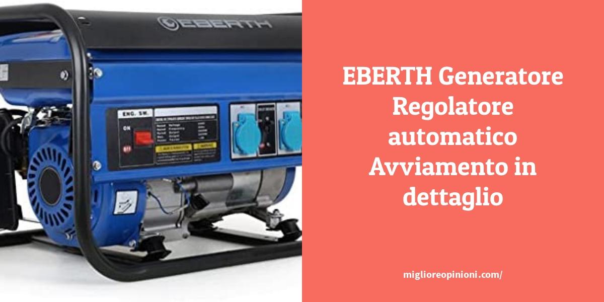 EBERTH Generatore Regolatore automatico Avviamentoin dettaglio