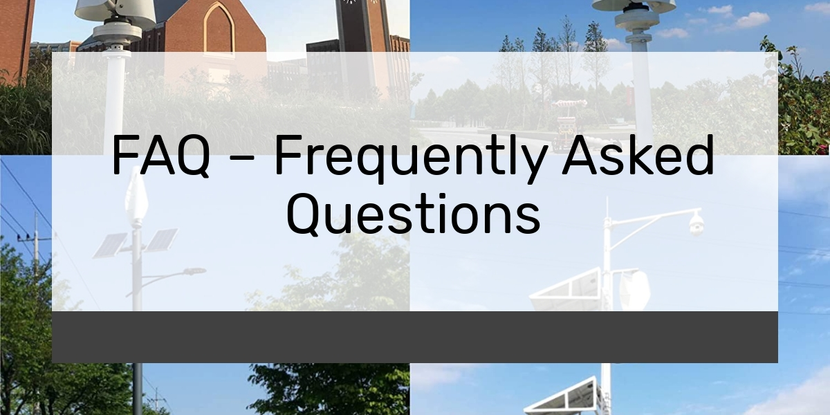 FAQ – Frequently Asked Questions