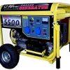 Gruppo elettrogeno Generatore corrente 5500W