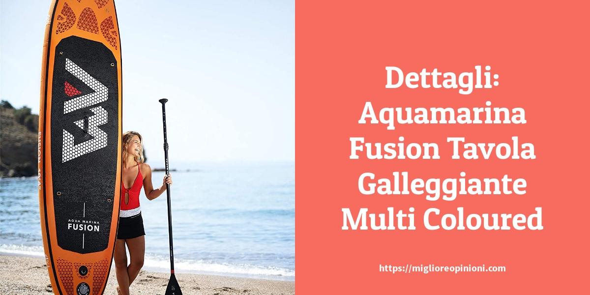 Dettagli Aquamarina Fusion Tavola Galleggiante Multi Coloured
