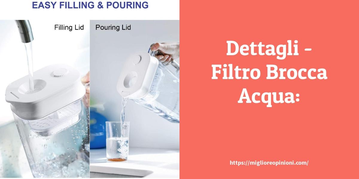 Dettagli - Filtro Brocca Acqua: