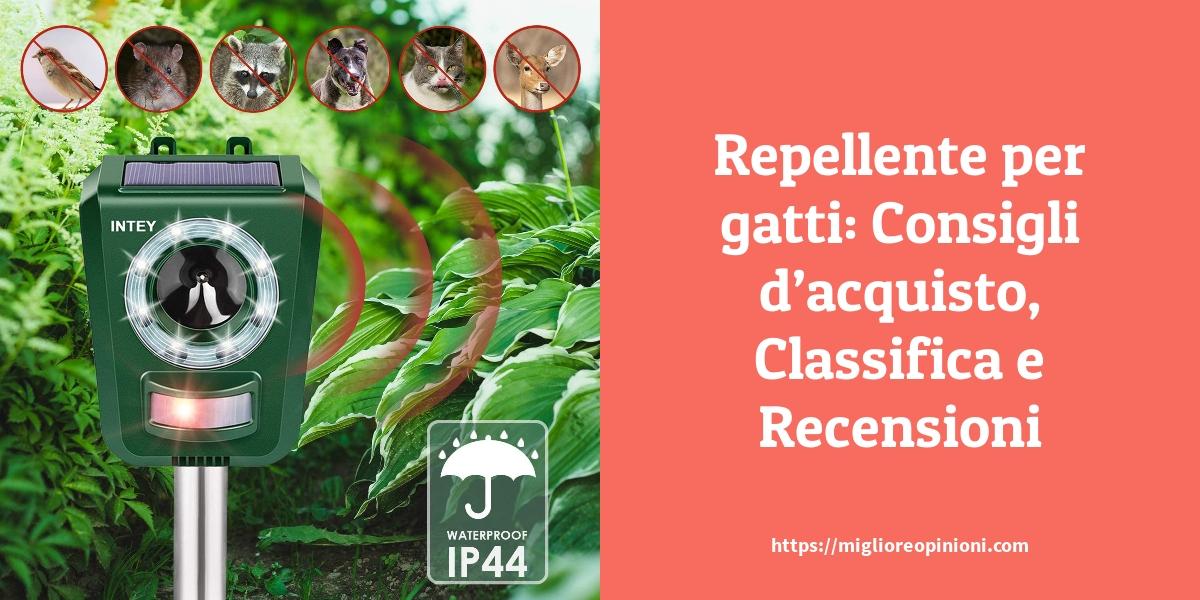 Repellente per gatti Consigli dacquisto Classifica e Recensioni