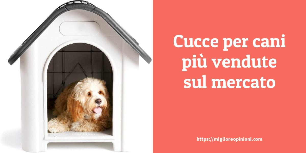 Cucce per cani più vendute sul mercato