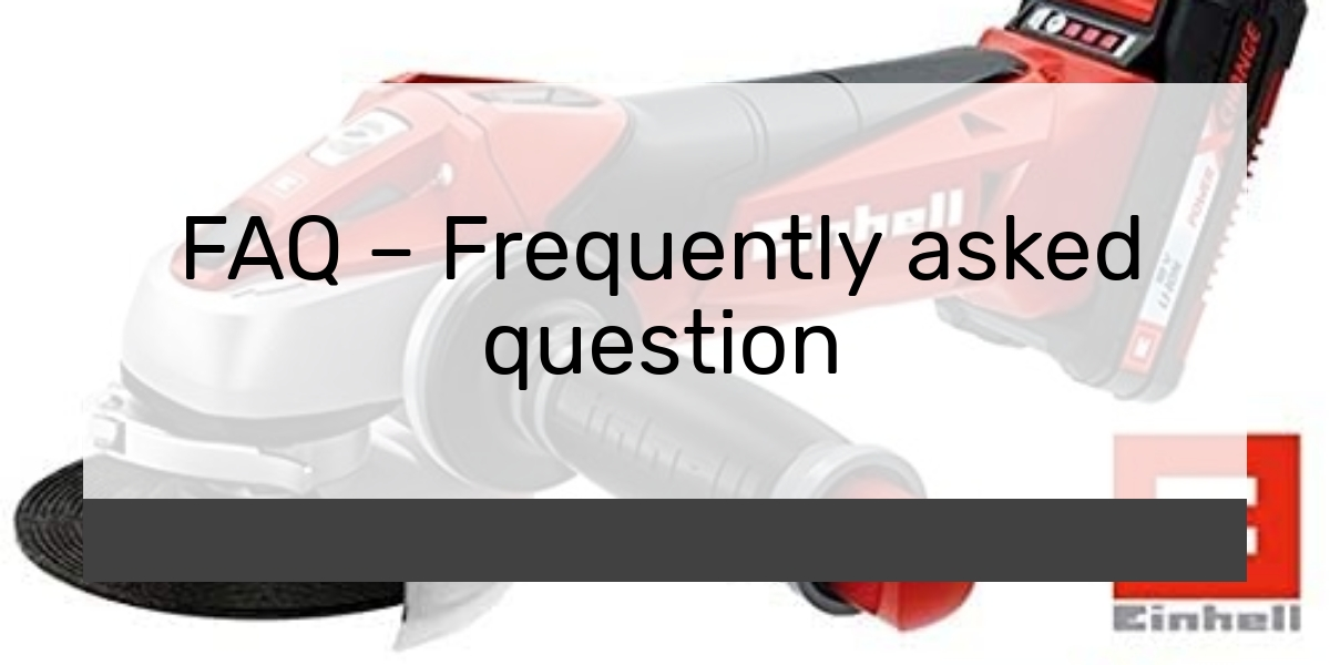 FAQ – Frequently asked question